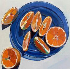 Bowl of Lemons / Erika Lee Sears Painting Inspiration, Art Inspo, Image Deco, Guache, Ap Art, Food Illustrations, Food Art, Painting & Drawing, Still Life