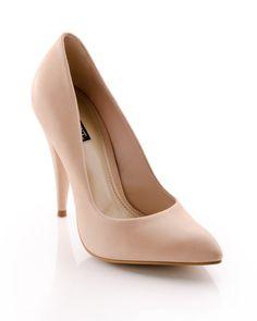 nude/blush classic heel