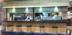 Cafes in Zurich – Restaurant Markthalle. Hg2Zurich.com.
