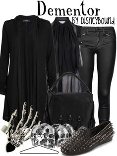 LOVE this Dementor inspired outfit by DB