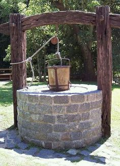 Beautiful well! DK, this would look right at home in your yard  don't you think?