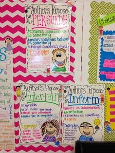 Life in First Grade: Author's Purpose