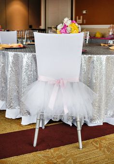 Ballerina Theme: Tutu-ed chair