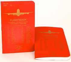 Second Production Run of Flightbooks are finally out!