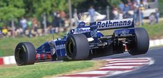 Williams FW18, Argentina 1996, Foto: LAT Photographic/Williams F1