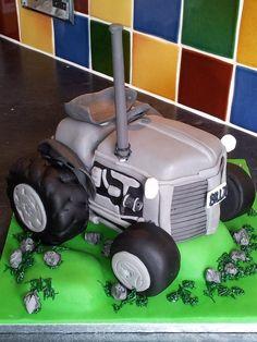 Vintage Massey Ferguson tractor cake