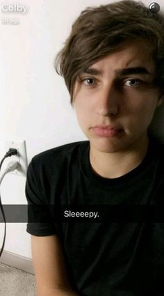I thought this year was going to be the worst year of high school, bu… Fanfiction Future Boyfriend, Future Husband, Sam And Colby Fanfiction, Cute Youtubers, Colby Cheese, Love Sam, Colby Brock, Famous Men, Emo Boys