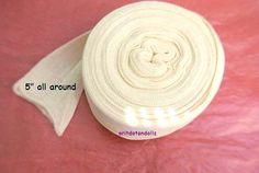 Doll's cotton tubing 22 yard cotton gauze  for by oritdotandolls