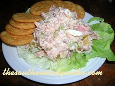 BEST HAM SALAD EVER! - http://thesouthernladycooks.com/2012/11/24/best-ham-salad-ever/ Ham Salad, Salad Bar, Pasta Salad, Soup And Salad, Fruit Salad, Chicken Salad, Ham Recipes, Cooking Recipes, Salad Recipes