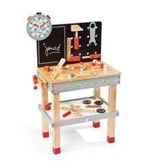 Établi de bricolage et ses outils pour enfant - Etabli géant - Les jeux et jouets - Les cadeaux - Noël - Décoration d'intérieur - Alinéa - 79,90€