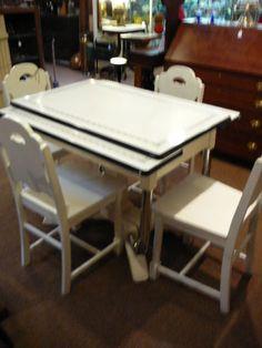 19 best porce namel kitchen table images vintage kitchen vintage rh pinterest com