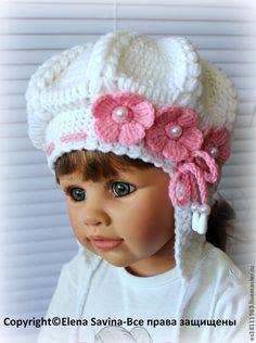"""Одежда для девочек, ручной работы. Ярмарка Мастеров - ручная работа Комплект """"Нежность"""" (берет+шарфик). Handmade."""