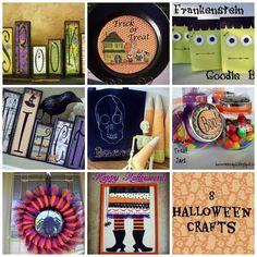 8 Halloween Crafts from www.summerscraps.com