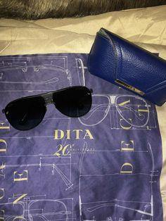 2b0e1ee4a04b1 Dita Sunglasses Decade Two Authentic 20 Anniversary