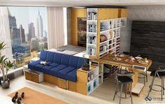Ampliar apartamento pequeño