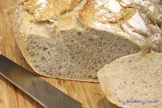 Łatwy chleb z zakwasem - My Blueberry Corner