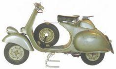 Vespa 125 Sei Giorni (1951-1953)
