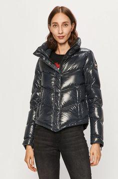 Puffer Jackets, Winter Jackets, Leather Jacket, Model, Products, Fashion, Winter Coats, Studded Leather Jacket, Moda