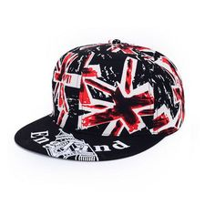 Hip Hop Baseball Cap Mens Hats Caps United Kingdom Flag Snapback Caps