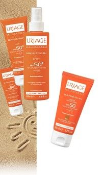 sunscreen spf 50 + | Uriage