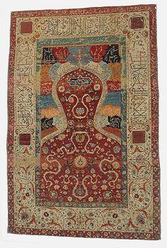 Carpet İran 16th Metropolitan Museum