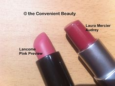 The Convenient Beauty: Lip and cheek in a stick – Laura Mercier Audrey and Lancome Pink Preview