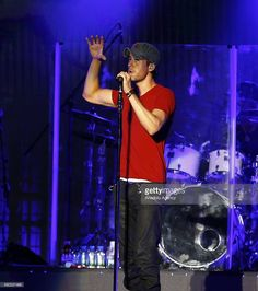 Enrique Iglesias gives a concert at EXPO 2016 Antalya on August 16, 2016, in Antalya, Turkey.