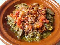 Tagine Makfoul Recipe - Moroccan Tagine with Caramelized Onions and Tomatoes
