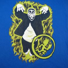 RARE VIOLENT J ICP INSANE CLOWN POSSE CONCERT TOUR TEE T SHIRT Sz Mens L