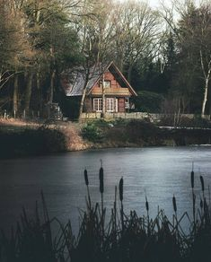 Want to experience the goodness of living in a country-style house and away from the city, and if you love hands-on, log cabin kits is the solution. Tiny Cabins, Cabins And Cottages, Log Cabins, Cabin Homes, Log Homes, Beautiful Homes, Beautiful Places, Cabin In The Woods, Mountain Homes