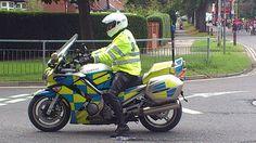 Yamaha Police Motorcycle