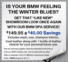 #BMW #SPECIAL #OFFER
