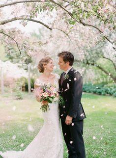 Charming Springtime Garden Wedding | Lexia Frank Photography - www.lexiafrank.com Read More: http://www.stylemepretty.com/2014/08/12/charming-springtime-garden-wedding/