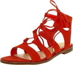 Vince Camuto Women's Tany Gladiator Sandal *** Trust me, this is great! Click the image. : Lace up sandals