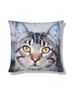 Sidney Tabby Cat Cushion | M&S
