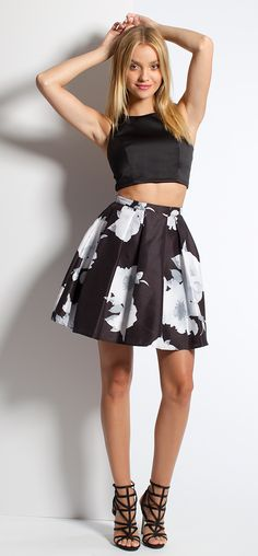 Floral Two-Piece Dre