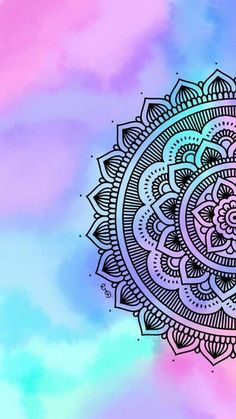 I love the background wallpaper in 2019 мандалы, рисунки, обои для телефона Mandala Doodle, Easy Mandala Drawing, Simple Mandala, Mandala Art Lesson, Doodle Art Drawing, Cool Art Drawings, Mandala Wallpaper, Mandala Artwork, Mandala Painting