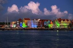 Colorful Curacao at dusk. Photo by P. Goss