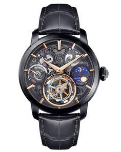 Memorigin Watch Tourbillon Navigator Black Series