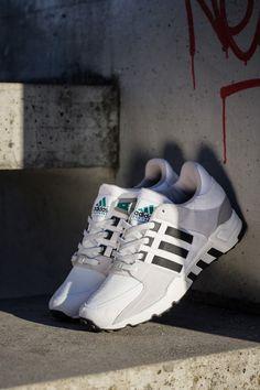 "adidas Originals EQT Running Support 93 ""White, Black & Grey"""