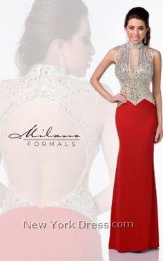 Milano Formals E1761 - NewYorkDress.com
