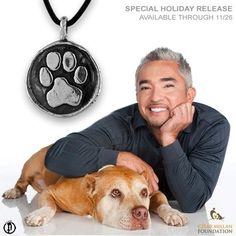 "Cesar Millan & Daddy. Cesar went through depression after his divorce and then his dog passed away. He is better now with treatment and counselling. I admire people who tell people they are ""human"" also and not just celebrities."