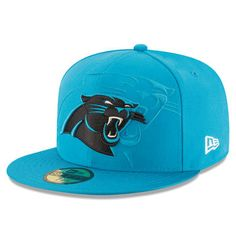 f9fc31e74 Men s Carolina Panthers New Era Blue 2016 Sideline Official 59FIFTY Fitted  Hat