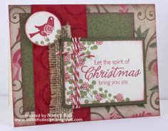 Nancy's CRAFTY blog: Merry and Bright strikes AGAIN!