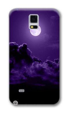 2c87ae5d49b883 Amazon.com  Phone Case Custom Samsung Note 4 Phone Case Purple Moon  Polycarbonate Hard Case for Samsung Note 4 Case  Cell Phones   Accessories