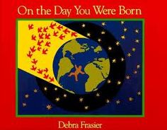 A beautiful book to share with your child about the day of their birth. It has a montessori spin, in that, all creatures, human and animal, await the birth of a child. It highlights the connection between them and all living things.