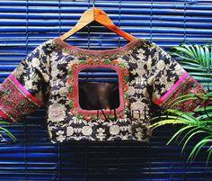 designer blouse from mantra the design studio