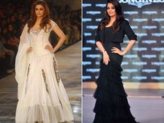 Aishwarya Rai Bachchan: Aishwarya caused a lot of stir after her delivery for not losing the pregnancy weight. Though it is okay for new mothers to take time to get back in shape, we think it is not alright for them to ignore it completely. High time Ash did something about her weight gain.