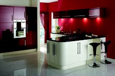 Stunning two tone kitchen