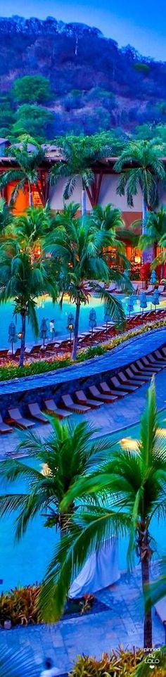 Peninsula Papagayo COSTA RICA - All The Best Resorts #wedding #honeymoon #vacations #holidays #presents #costarica #resorts